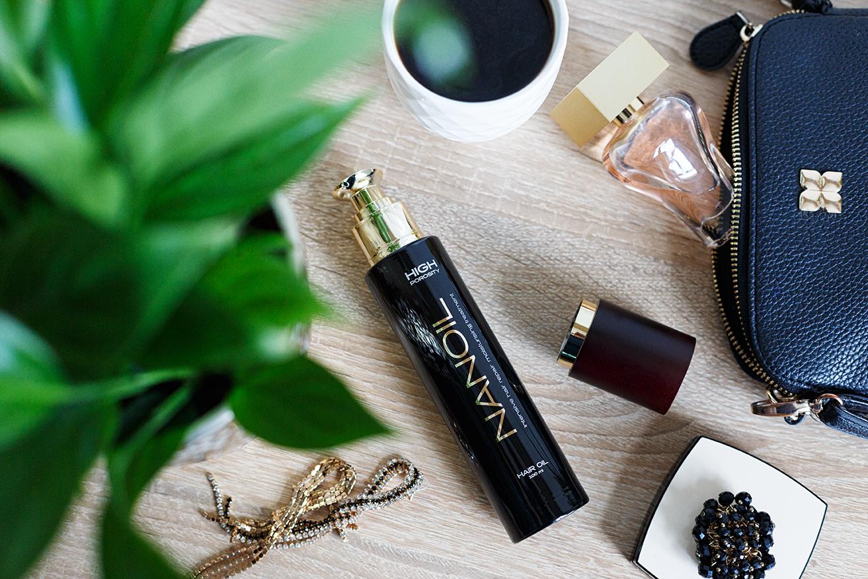 olejek do włosów wysokoporowatych Nanoil